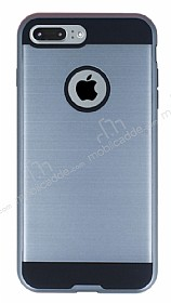 Eiroo Iron Shield iPhone 7 Plus Ultra Koruma Silver K�l�f