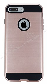 Eiroo Iron Shield iPhone 7 Plus Ultra Koruma Rose Gold K�l�f