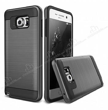 Eiroo Iron Shield Samsung Galaxy Note 5 Ultra Koruma Siyah Kılıf