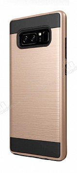 Eiroo Iron Shield Samsung Galaxy Note 8 Ultra Koruma Gold Kılıf