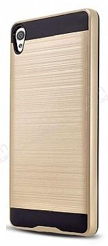 Eiroo Iron Shield Sony Xperia XA Gold Kılıf