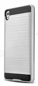 Eiroo Iron Shield Sony Xperia XA Silver Kılıf