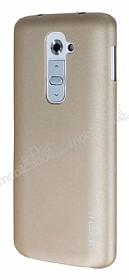 Eiroo Lucatelli LG G2 Ultra İnce Gold Rubber Kılıf