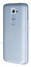 Eiroo Lucatelli LG G2 Ultra İnce Silver Rubber Kılıf