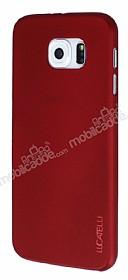 Eiroo Lucatelli Samsung i9800 Galaxy S6 Ultra İnce Bordo Rubber Kılıf