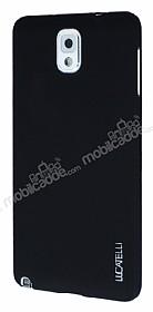Eiroo Lucatelli Samsung N9000 Galaxy Note 3 Ultra İnce Siyah Rubber Kılıf