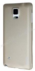 Eiroo Lucatelli Samsung N9100 Galaxy Note 4 Ultra İnce Gold Rubber Kılıf