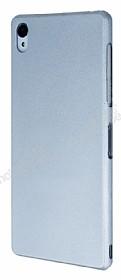 Eiroo Lucatelli Sony Xperia Z3 Ultra İnce Silver Rubber Kılıf