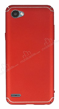 Eiroo Mellow LG Q6 Ultra Kırmızı Rubber Kılıf