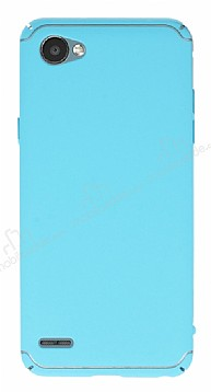 Eiroo Mellow LG Q6 Ultra Mavi Rubber Kılıf