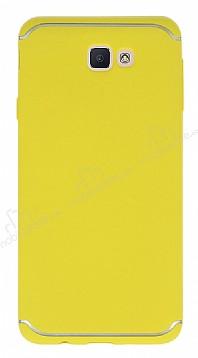 Eiroo Mellow Samsung Galaxy J7 Prime / J7 Prime 2 Sarı Silikon Kılıf
