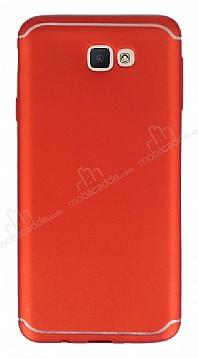 Eiroo Mellow Samsung Galaxy J7 Prime / J7 Prime 2 Kırmızı Silikon Kılıf