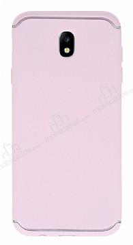 Eiroo Mellow Samsung Galaxy J7 Pro 2017 Pembe Silikon Kılıf