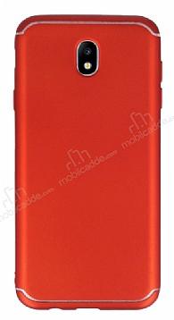 Eiroo Mellow Samsung Galaxy J7 Pro 2017 Kırmızı Silikon Kılıf