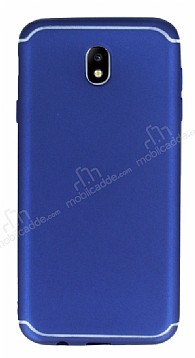 Eiroo Mellow Samsung Galaxy J7 Pro 2017 Lacivert Silikon Kılıf