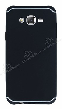 Eiroo Mellow Samsung Galaxy J7 Siyah Silikon Kılıf