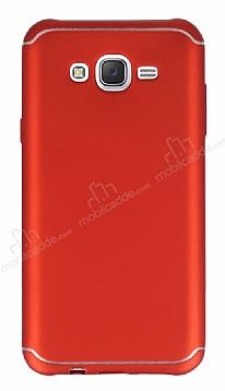 Eiroo Mellow Samsung Galaxy J7 Kırmızı Silikon Kılıf