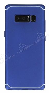 Eiroo Mellow Samsung Galaxy Note 8 Lacivert Silikon Kılıf