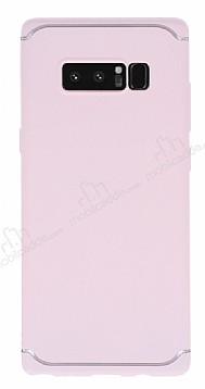 Eiroo Mellow Samsung Galaxy Note 8 Pembe Silikon Kılıf