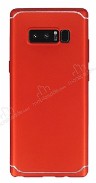 Eiroo Mellow Samsung Galaxy Note 8 Kırmızı Silikon Kılıf