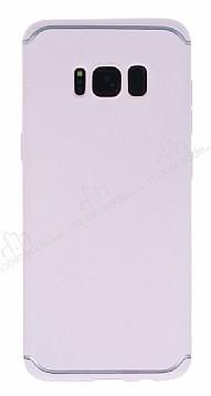 Eiroo Mellow Samsung Galaxy S8 Pembe Silikon Kılıf