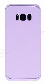 Eiroo Mellow Samsung Galaxy S8 Mor Silikon Kılıf