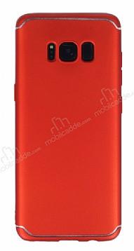 Eiroo Mellow Samsung Galaxy S8 Kırmızı Silikon Kılıf