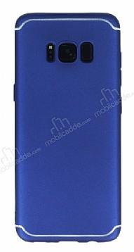 Eiroo Mellow Samsung Galaxy S8 Lacivert Silikon Kılıf