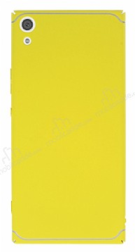 Eiroo Mellow Sony Xperia XA1 Ultra Sarı Rubber Kılıf