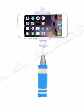Eiroo Mini Mavi Selfie Çubuğu