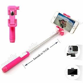 Eiroo Mini Pembe Selfie Çubuğu