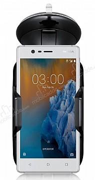 Eiroo Nokia 3 Siyah Araç Tutucu