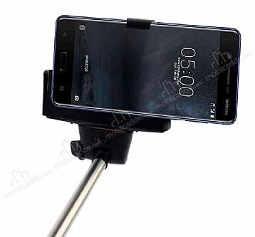 Eiroo Nokia 5 Bluetooth Tuşlu Selfie Çubuğu
