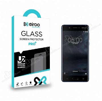 Eiroo Nokia 5 Tempered Glass Cam Ekran Koruyucu