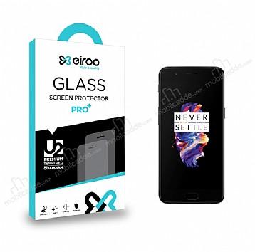 Eiroo OnePlus 5 Tempered Glass Cam Ekran Koruyucu