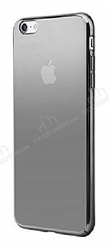 Eiroo Pente iPhone 6 / 6S Siyah Rubber Kılıf