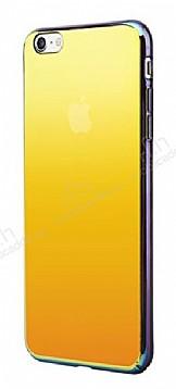 Eiroo Pente iPhone 6 Plus / 6S Plus Sarı Rubber Kılıf