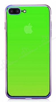 Eiroo Pente iPhone 7 Plus / 8 Plus Yeşil Rubber Kılıf