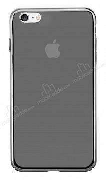 Eiroo Pente iPhone 7 / 8 Siyah Rubber Kılıf