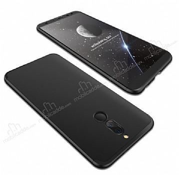 Eiroo Protect Fit Huawei Mate 10 Lite 360 Derece Koruma Siyah Rubber Kılıf