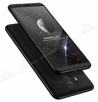 Eiroo Protect Fit Huawei Mate 10 Pro 360 Derece Koruma Siyah Rubber Kılıf