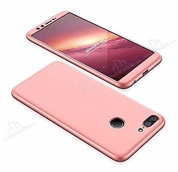 Eiroo Protect Fit Huawei P Smart 360 Derece Koruma Rose Gold Rubber Kılıf
