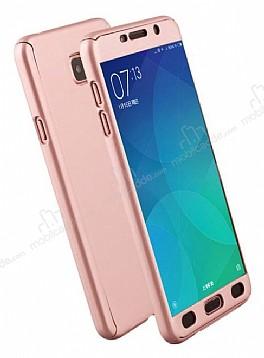 Eiroo Protect Fit Samsung Galaxy J7 Prime 360 Derece Koruma Rose Gold Rubber Kılıf