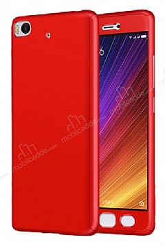 Eiroo Protect Fit Xiaomi Mi 5s 360 Derece Koruma Kırmızı Rubber Kılıf