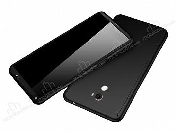 Eiroo Protect Fit Xiaomi Mi Mix 2 360 Derece Koruma Siyah Rubber Kılıf