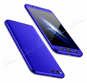 Eiroo Protect Fit Xiaomi Mi Note 3 360 Derece Koruma Lacivert Rubber Kılıf