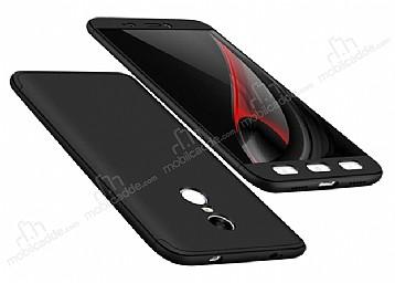 Eiroo Protect Fit Xiaomi Redmi Note 4 / Redmi Note 4x 360 Derece Koruma Siyah Rubber Kılıf