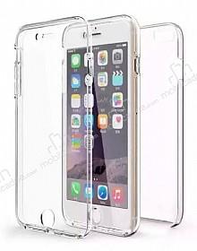 Eiroo Protection iPhone 6 / 6S 360 Derece Koruma Şeffaf Silikon Kılıf