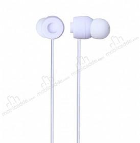Eiroo Rainbow Beyaz Mikrofonlu Kulakiçi Kulaklık