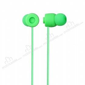 Eiroo Rainbow Yeşil Mikrofonlu Kulakiçi Kulaklık
